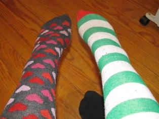I love my socks ^_^